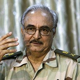 Il generale Khalifa Haftar (Reuters)
