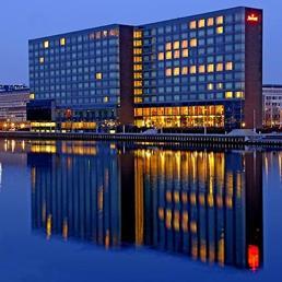 Il Marriot Hotel di Copenaghen dove è prevista la riunione di Bilderberg