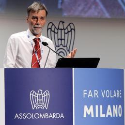Graziano Delrio (Ansa)