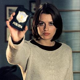 """Claudia Pandolfi in una scena di """"Distretto di Polizia 3"""" (Ansa)"""