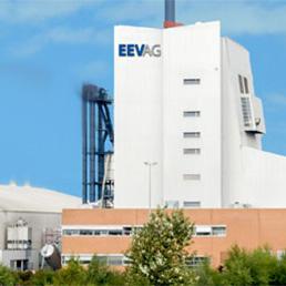 Una centrale a biomasse di Eev Ag