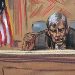 Il giudice Thomas Griesa (Reuters)
