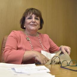 La direttrice dell'Agenzia delle entrate, Rossella Orlandi