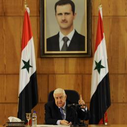 II ministro degli Esteri siriano Walid al Muallim (Reuters)