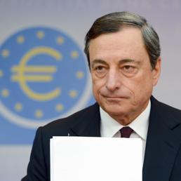 Il presidente della Bce, Mario Draghi (Epa)