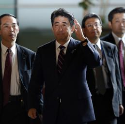 Shinzo Abe (foto Reuters)