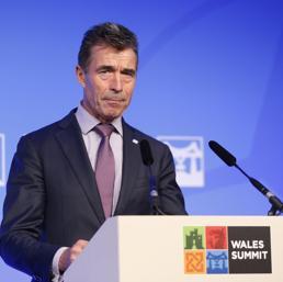 Anders Fogh Rasmussen (Epa)