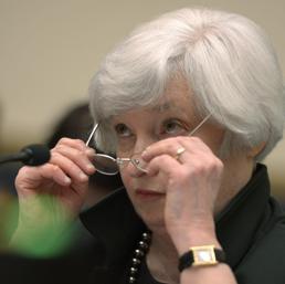 Il presidente della Federal Reserve, Janet Yellen
