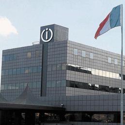 La fabbrica Indesit a Fabriano (Ansa)