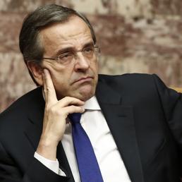 Il premier greco Samaras (Reuters)