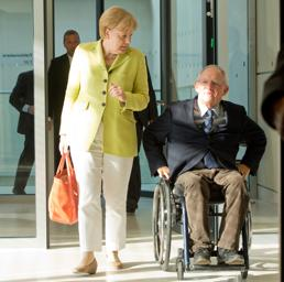 Angela Merkel e Wolfgang Sch�uble