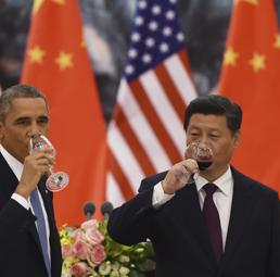 Obama e Xi Jinping (Lapresse)