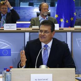 Il vicepresidente della Commissione Ue per l'energia, Maros Sefcovic (Reuters)