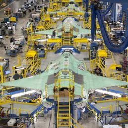 Lo stabilimento Lockheed Martin. (Reuters)