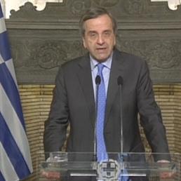 Antonis Samaras  (Reuters) (REUTERS)