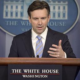 Il portavoce della Casa Bianca, Josh Earnest (Ap)
