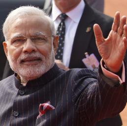 Il Primo Ministro  Narendra Modi  (Ap) (AP)