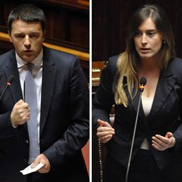 Matteo Renzi e Maria Elena Boschi