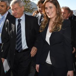 Il ministro delle Riforme Istituzionali Maria Elena Boschi. (Ansa) (ANSA)