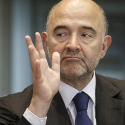 Pierre Moscovici, il commissario agli affari economici. (Epa)