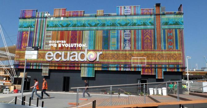 Expo Milano Stand Ecuador : I padiglioni di expo ecuador