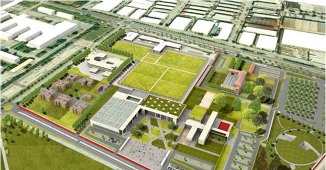 I migliori progetti dei campi da calcio centro sportivo for Centro sportivo le piscine