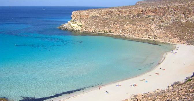 Spiaggia Dei Conigli Lampedusa Agrigento