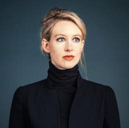 Elizabeth Holmes, 31 anni, fondatrice di Theranos. Ha un patrimonio di 4,5 miliardi di dollari.