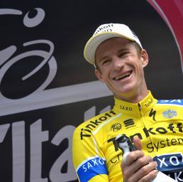 L'australiano Rogers, vincitore della tappa. (Ap)