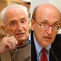 Giovanni Sartori e Roberto D'Alimonte