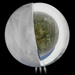 Un nucleo solido, una profonda crosta ghiacciata e in mezzo un oceano di acqua liquida a zero gradi (Jpl)