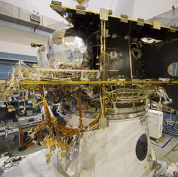 Il satellite BepiColombo mostra la sua complessit� nella fase di Integrazione
