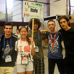 Da sinistra, Scotti, Mazzetto, Milizia e Ferraro