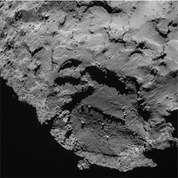 Un'immagine del sito primario di discesa di Philae sulla cometa 67P/C-G. (Fonte: ESA/Rosetta/NAVCAM)