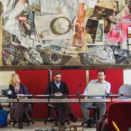 Un immagine della conferenza stampa