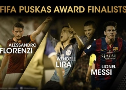 Florenzi con Messi tra finalisti premio Puskas
