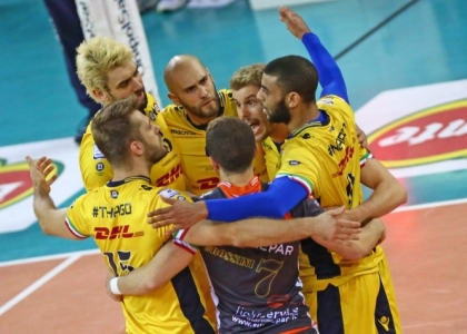 Volley, playoff Superlega: Trento e Civitanova sono vive