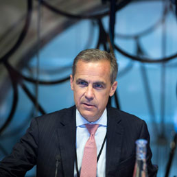 Mark Carney, governatore della Bank of England
