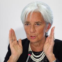 La direttrice del Fondo monetario internazionale, Christine Lagarde (Reuters)