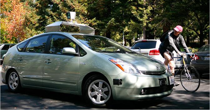 I cinque progetti pi innovativi di google google car l for L auto che si guida da sola