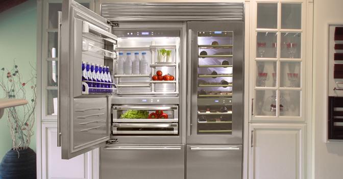 Il mega frigo italiano su misura