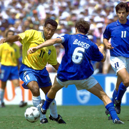 Brasile-Italia 0-0 d t s , 3-2 ai rigori (17 luglio 1994)