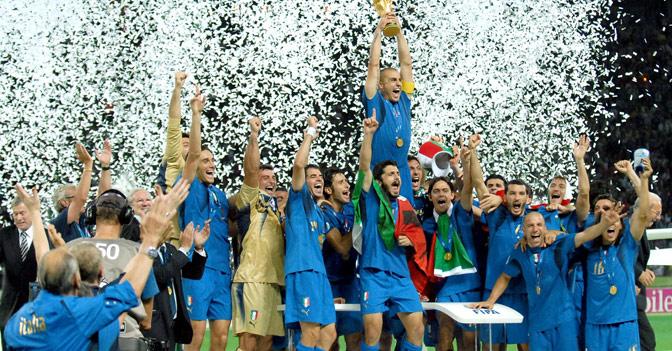 Foto della nazionale italiana di calcio 2010
