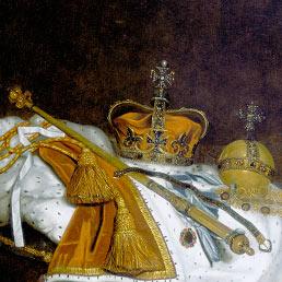 L'eccesso di austerity ha spogliato anche il Re (Corbis)