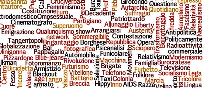 150 anni di storia d'Italia in 150 parole