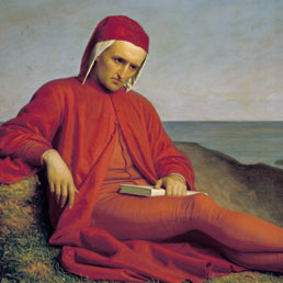 Domenico Petarlini, «Dante in esilio», 1860