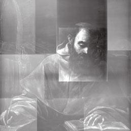 AAgostino, il Caravaggio ritrovato - Radiografie e riflettografie eseguite nel 2010 dall Hamilton Kerr Institute di Cambridge