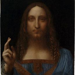 Salvator Mundi: il Leonardo ritrovato che incanta i critici (Afp Photo)