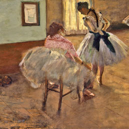 """Dancers"" Edgar Degas"