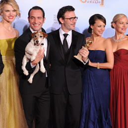 Golden Globe, vincono The Artist e Clooney e spunta anche Madonna (Afp)